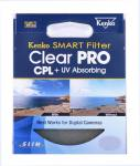 Kenko 62mm SMART Clear PRO CPL+UV Filter