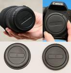 Body & Rear Lens Cap Combo Canon