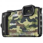 Nikon Coolpix W300 Waterproof Digital Camera in Camouflage