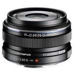 Olympus M.ZUIKO DIGITAL 17mm f1.8 Lens (Black)