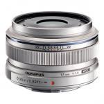 Olympus M.ZUIKO DIGITAL 17mm f1.8 Lens (Silver)