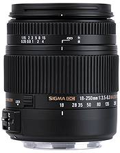 Sigma 18-250mm f3.5-6.3 DC Macro OS HSM Canon Fit