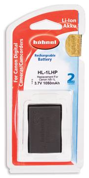 Hahnel HL-1LHP Battery - Canon NB-1LH