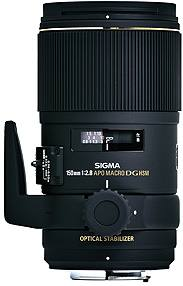 Sigma 150mm f/2.8 EX DG OS HSM Canon Fit