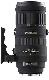 Sigma 120-400mm f/4.5-5.6 DG OS HSM Canon Fit