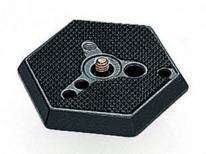 Manfrotto 030-14 Hexagonal Adapter Plate Normal With 1/4 Inch Screw