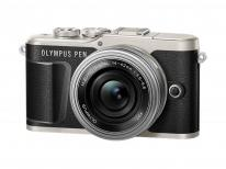 Olympus PEN E-PL9 Pancake Kit in Black