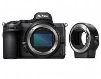 Nikon Z 5 Digital Camera Body With FTZ Mount Adapter in Black