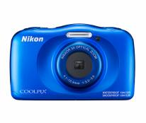 Nikon Coolpix W150 Waterproof Digital Camera in Blue