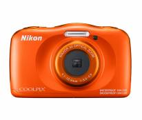 Nikon Coolpix W150 Waterproof Digital Camera in Orange