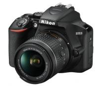 Nikon D3500 Digital SLR + 18-55mm AF-P DX VR Lens in Black