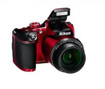Nikon Coolpix B500 Digital Camera in Red