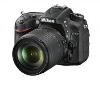 Nikon D7200 Digital SLR Camera With 18-105mm VR Lens