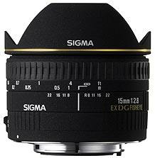 Sigma 15mm f/2.8 EX DG Diagonal Fisheye Canon Fit