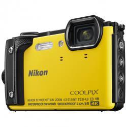 Nikon Coolpix W300 Waterproof Digital Camera in Yellow