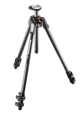 Manfrotto 190 Carbon Fibre 3-Section Tripod, With Horizontal Column MT190CXPRO3