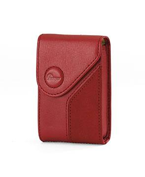 Lowepro Napoli 5 Leather Case in Red