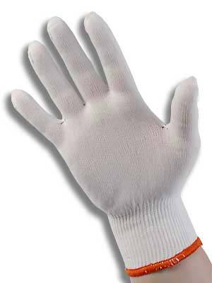 Stretch Nylon Gloves Medium Pack Of 2 Pairs