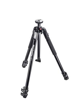 Manfrotto 190X Aluminium 3-Section Tripod MT190X3