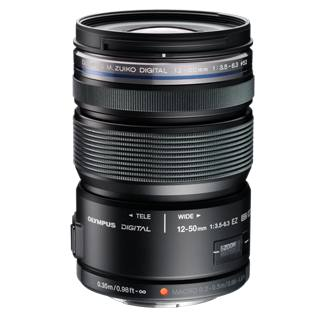 Olympus M.ZUIKO DIGITAL ED 12-50mm f3.5-6.3 EZ Lens (Black)