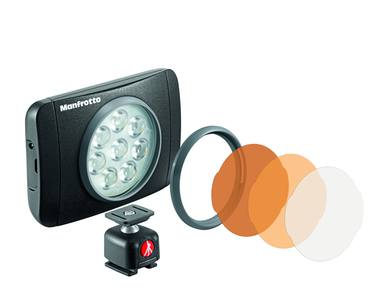 Manfrotto Lumimuse Series 8 Led Light & Accessories - Black