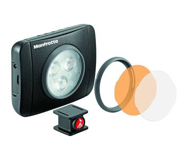 Manfrotto Lumimuse Series 3 Led Light & Accessories - Black