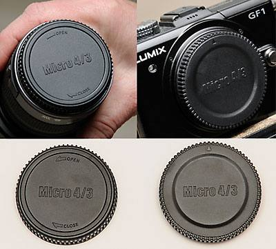 Body & Rear Lens Cap Combo Micro 4/3