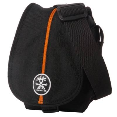 Crumpler Pretty Boy 220 XXS Bag in Black & Orange