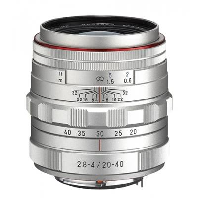 Pentax HD DA 20-40mm F2.8-4 ED Limited DC WR Lens in Silver