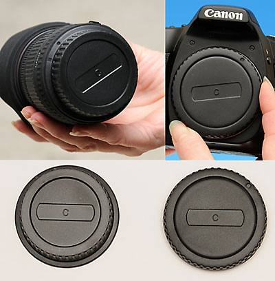 Body & Rear Lens Cap Combo Canon