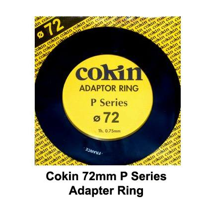 Cokin P Series 72mm Adapter Ring