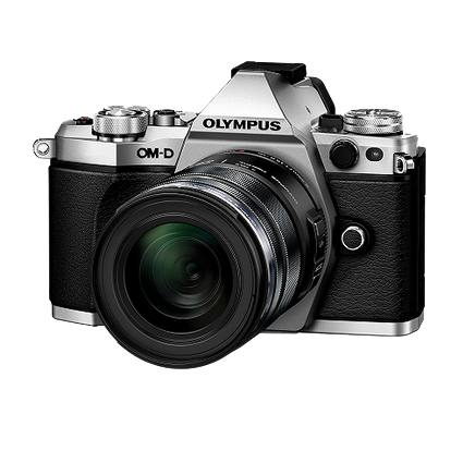 Olympus OMD E-M5 Mark II 12-50mm Kit in Silver
