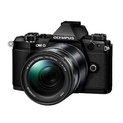 Olympus OMD E-M5 Mark II 14-150mm Kit in Black