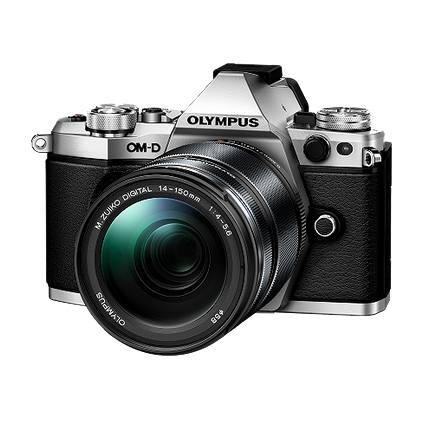 Olympus OMD E-M5 Mark II 14-150mm Kit in Silver