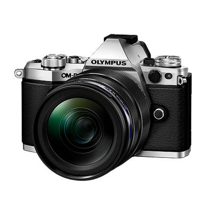 Olympus OMD E-M5 Mark II 12-40mm Power Kit in Silver