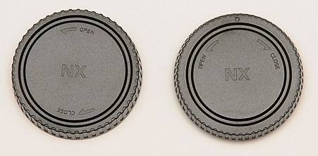 Body & Rear Lens Cap Combo Samsung NX