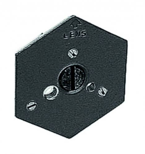Manfrotto 130-14 Hexagonal Plate With 1/4 Inch Screw