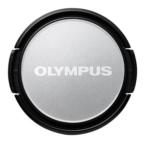 Olympus LC-37PR Dress-Up Lens Cap (Silver)
