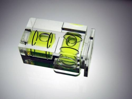 Hama Hotshoe Spirit Level Deluxe Double Bubble