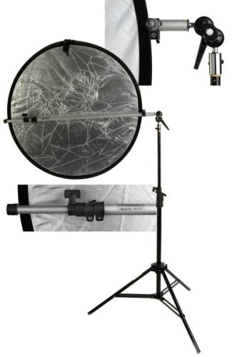 Interfit Reflector Support Arm INT274: Manfrotto 119 Spigot