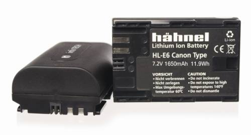 c59f9b119 Hahnel HL-E6 Battery Canon LP-E6 Alternative | Hilton Photographic