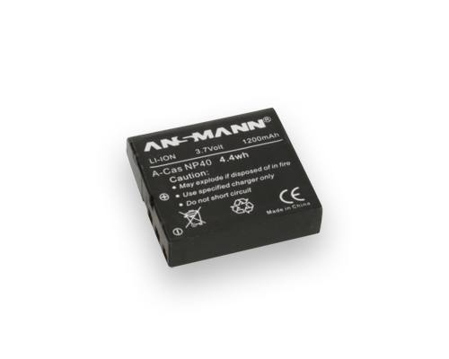 Ansmann NP 40 For Casio Cameras