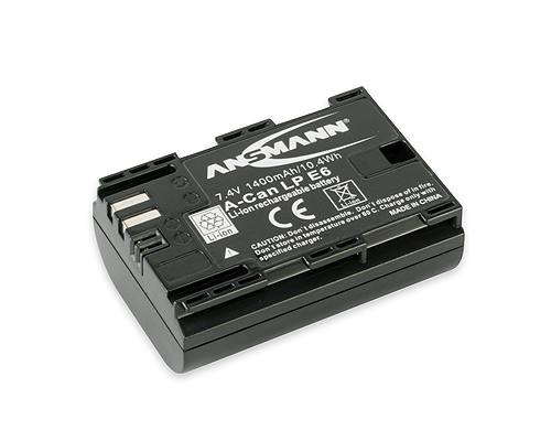 Ansmann LP E6 For Canon Cameras