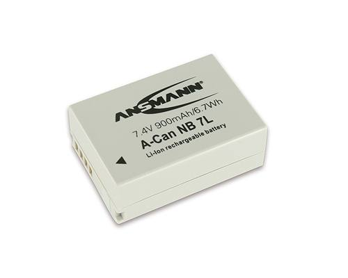 Ansmann NB 7L For Canon Cameras
