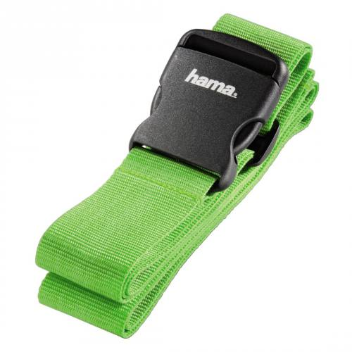 Hama 5cm x 200cm Luggage Strap in Green
