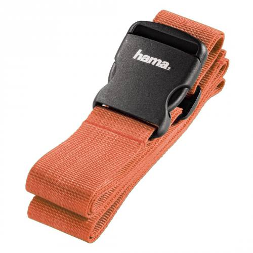 Hama 5cm x 200cm Luggage Strap in Orange