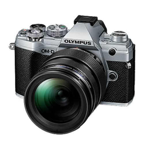 Olympus OMD E-M5 Mark III 12-40mm Pro Kit in Silver