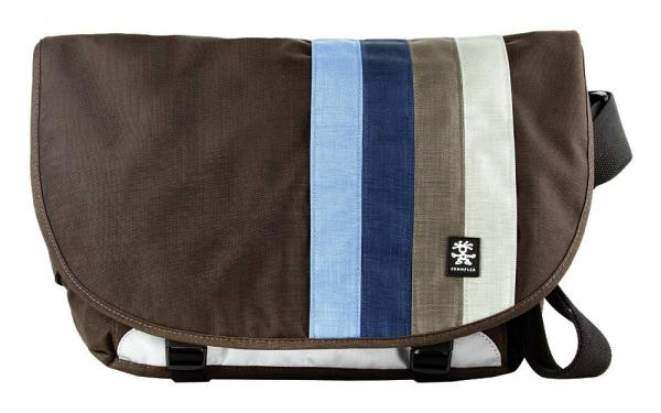 Crumpler DINKY DI Messenger Bag in Expresso and Blue