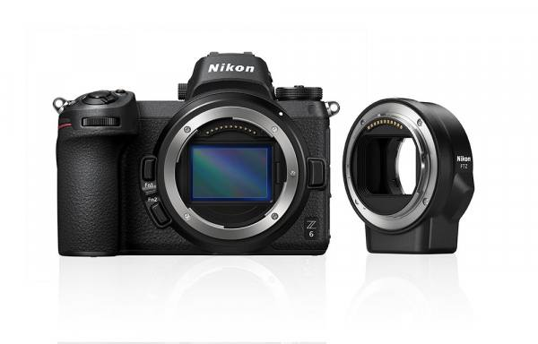 Nikon Z 6 Digital Camera Body Only With Mount Adapter in Black