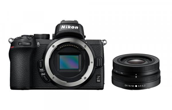 Nikon Z 50 Digital Camera Body With 16-50mm VR Lens in Black